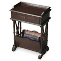 HARROWGATE MAGAZINE RACK TABLE - RUBBED BLACK FINISH - FREE SHIPPING*