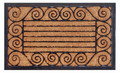 "PALACE GATE RUBBER BACK COIR DOORMAT - 18"" x 30"" - DOOR MAT - WELCOME MAT"