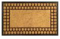 """CHARLESTON RUBBER BACK COIR DOORMAT - 18"""" X 30"""" - DOOR MAT - WELCOME MAT"""