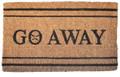 """GO AWAY COIR DOORMAT - 18"""" x 30"""""""