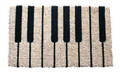 "PIANO KEYS COIR DOORMAT - 18"" X 30"" - DOOR MAT - WELCOME MAT"