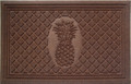 "WILLIAMSBURG PINEAPPLE DOORMAT - 22""H x 35""L"