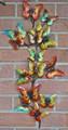 BUTTERFLY METAL WALL SCULPTURE - BUTTERFLY WALL ART