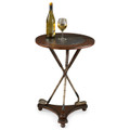 GOLF PRO SIDE TABLE - ROUND TABLE - GOLF CLUBS TRIPOD ACCENT TABLE -  FREE SHIPPING*