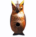 GREAT HORNED OWL BIRD HOUSE