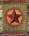 "WESTERN STAR TAPESTRY THROW BLANKET - 50"" X 60"" - WESTERN DECOR"