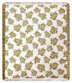 """SEA TURTLE BEACH"" RAYON THROW BLANKET - 48"" X 60"""