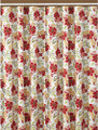 """WINDSOR GARDENS"" FLORAL SHOWER CURTAIN"
