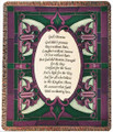 "GOD'S PROMISE TAPESTRY THROW - 50"" X 60"" THROW BLANKET"