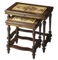 BANBURY CROSS NESTING TABLES - SET OF TWO - NEST OF TABLES - FREE SHIPPING*