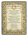 IRISH BLESSING TAPESTRY THROW - IRISH - IRELAND - CELTIC THROW BLANKET