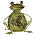 FANCIFUL FROG DUAL-SPEED ELECTRIC TABLE FAN - PORTABLE FAN