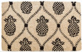 """KINGS ARMS"" COIR DOORMAT - 22"" X 35"" - WILLIAMSBURG PINEAPPLE DOOR MAT"