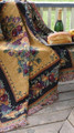 """""""OLD WORLD ORCHARD"""" TAPESTRY THROW BLANKET"""
