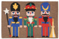 """OLDE WORLD NUTCRACKER"" RUG - 20"" x 30"" - INDOOR OUTDOOR RUG - HAND TUFTED RUG"