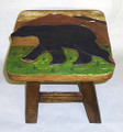 """BIG BEAR"" FOOTSTOOL - BLACK BEAR FOOTSTOOL"