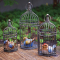 CHELSEA GARDEN DECORATIVE BIRD CAGE TRIO - ANTIQUE BRONZE