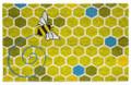 """DOOR MATS - BUSY BEE COIR DOORMAT - 17"""" X 28"""" - WELCOME MAT"""