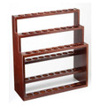 """WELLINGTON"" THREE TIER WOODEN CANE RACK"