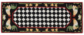 """FRENCH COUNTRY ROOSTER"" INDOOR OUTDOOR RUG - 24"" x 60"" RUNNER"