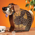 PLAYFUL PUPPY DOG DUAL-SPEED ELECTRIC TABLE FAN - PORTABLE FAN
