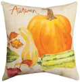 """AUTUMNS BOUNTY"" INDOOR OUTDOOR PILLOW - 18"" SQUARE"