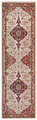 "RED MEDALLION ORIENTAL DESIGN RUG - 2'3"" x 8' RUNNER"