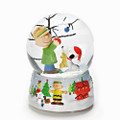 """CHARLIE BROWN CHRISTMAS"" MUSICAL SNOW GLOBE - SNOOPY - PEANUTS"