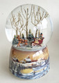 """SLEIGH RIDE TOGETHER"" MUSICAL SNOW GLOBE"