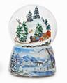 """CHRISTMAS EXPRESS"" MUSICAL SNOW GLOBE - TRAIN SNOWGLOBE"