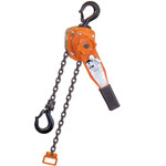 CM lever chain hoist: Series 653 1 1/2 Ton 10 ft of lift