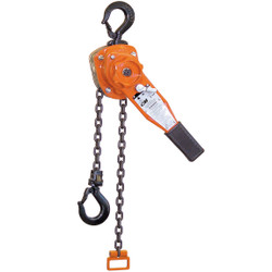 CM lever chain hoist: Series 653 6 Ton 10 ft of lift
