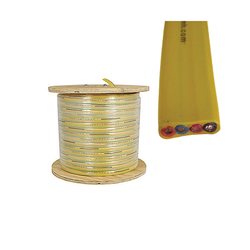 flat festoon cable 4 gauge 4 conductors: product number F-4/4