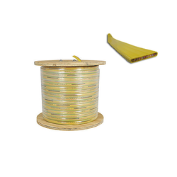flat festoon cable 16 gauge 8 conductors: product number F-16/12