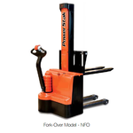Presto Powerstak PPS Electric Stacker Fork-Over Model - Part #'s: PPS2200-62NFO-21, PPS2200-62NFO-27