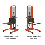 Presto M Series Manual Foot Operated Stackers