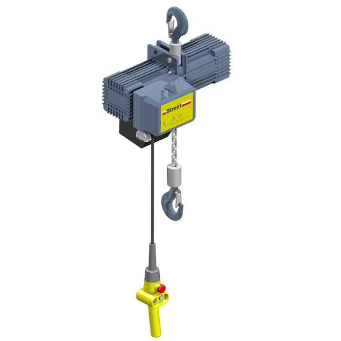 Electric Chain Hoist With Hook: Street LX 2 Ton Electric Chain Hoist With Hook Mount