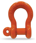 "20 Ton Anchor Shackle, Screw Pin, 1 1/2"" Carbon - M657P"