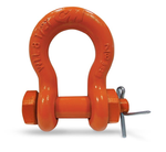 "12 Ton CM Safety Bolt, Nut & Cotter Shackle, 1-1/8"" Carbon - M855P"