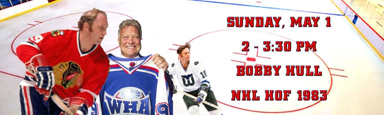 Bobby Hull NHL Hall of Fame Signing