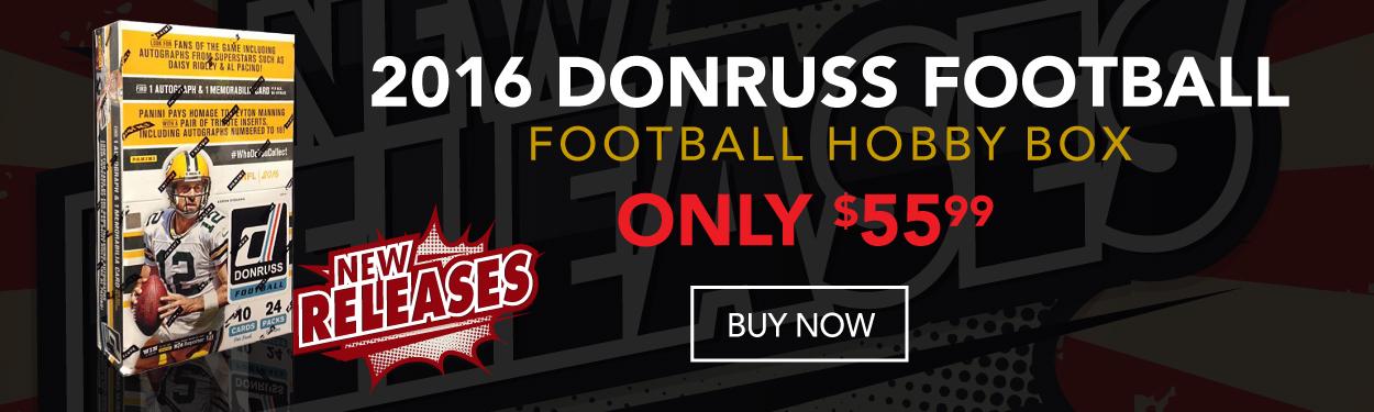 2016 Don Russ Football Hobby Box