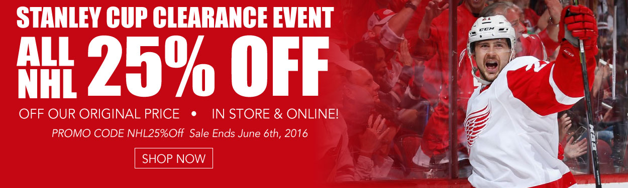Stanley Cup Clearance Event