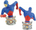 ATOM PAPERWEIGHT FIGURE - JUSTICE LEAGUE