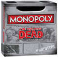 WALKING DEAD COMIC - MONOPOLY BOARD GAME- THE SURVIVAL EDITION- PX EXCLUSIVE