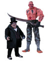 BATMAN ARKHAM CITY SICKLE AND PENGUIN ACTION FIGURE 2 PACK