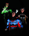 DC COMICS SUPER-VILLAINS - CRIME SYNDICATE ACTION FIGURE- POWER RING