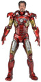 IRON MAN - BATTLE DAMAGED 1/4 SCALE ACTION FIGURE - NECA
