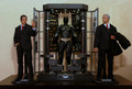 BATMAN ARMORY WITH ALFRED,BATMAN & BRUCE WAYNE FIGURE -HOT TOYS MMS236