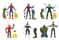 SPIDER-MAN LEGENDS INFINITE SERIES- SET OF 6 FIGURE W/BUILD ULTIMATE GREEN GOBLIN (SPIDERMAN)