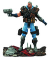 CABLE ACTION FIGURE - MARVEL SELECT X-MEN